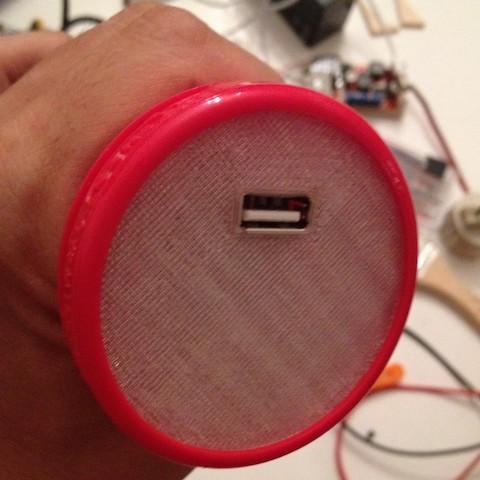Ljusa IKEA USB